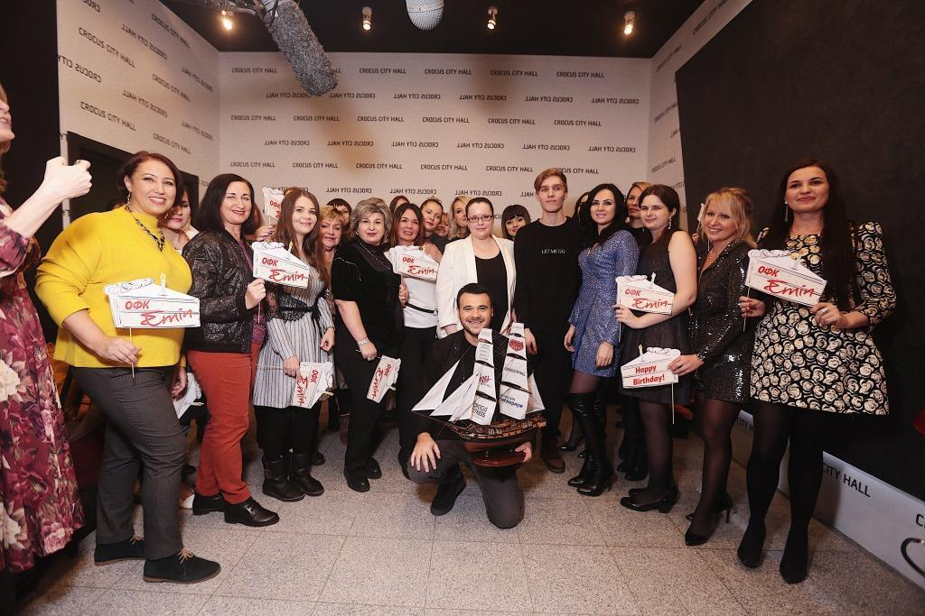 В Москве прошел юбилейный концерт Эмина Агаларова