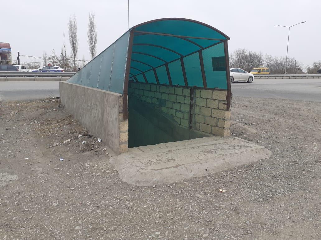 На магистральной дороге в Азербайджане снижена скорость движения автомобилей
