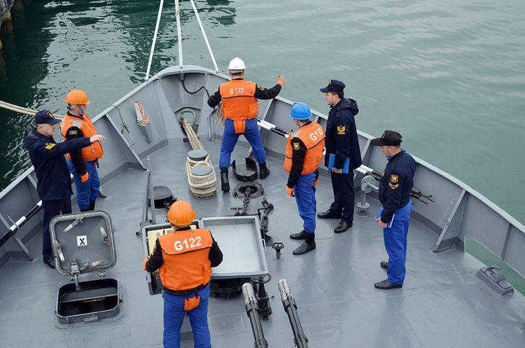 Турецкие военные наблюдали за учебными тренировками ВМС Азербайджана