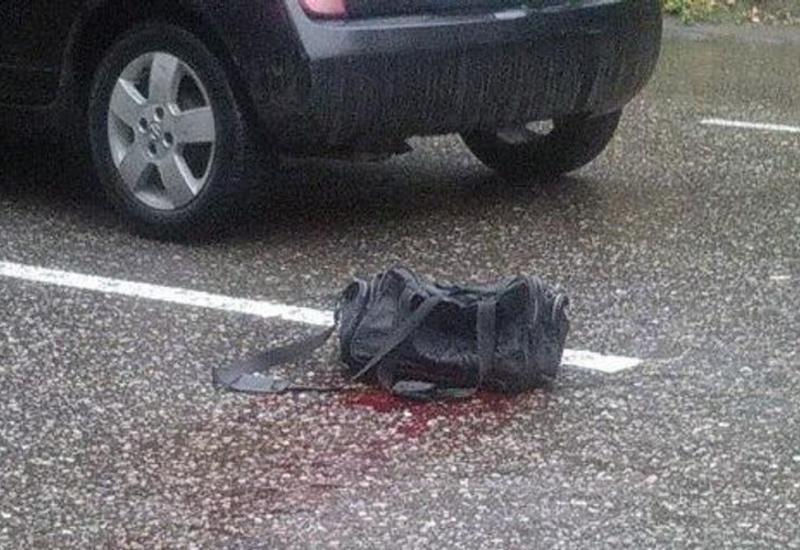 В Баку девушка-водитель сбила женщину