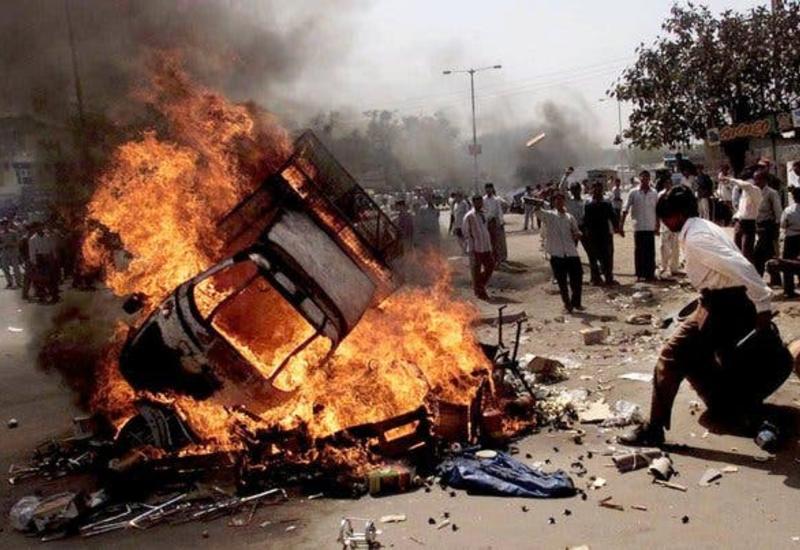 Массовые беспорядки в Индии