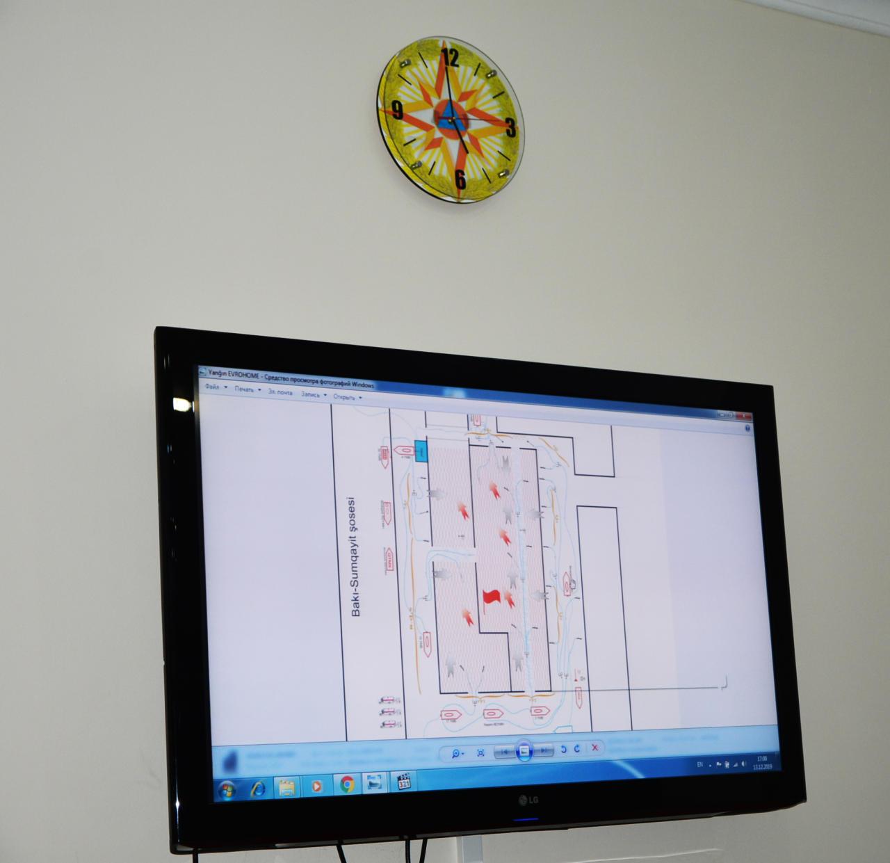 В связи с Новым годом МЧС Азербайджана усилит меры пожарной охраны