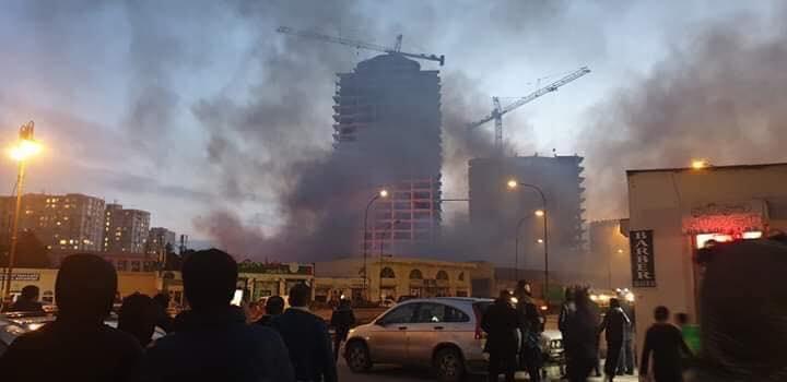 На крупном рынке в Баку произошел пожар
