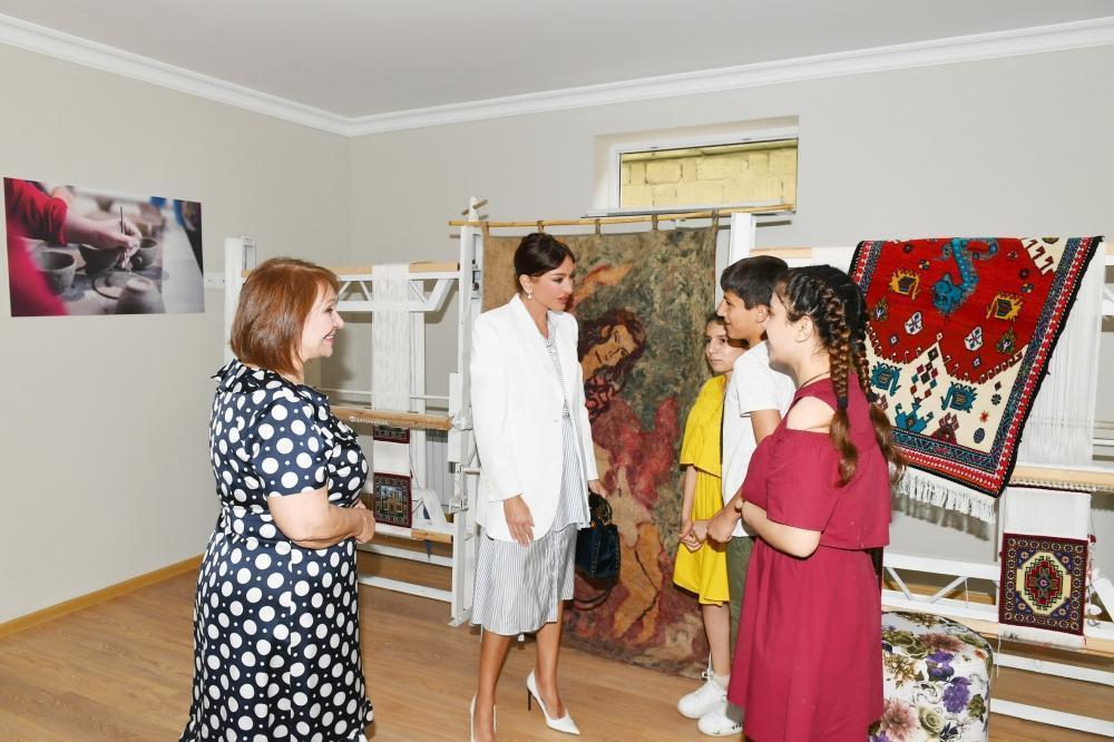 Благодаря Первому вице-президенту Мехрибан Алиевой мы обеспечены всем необходимым