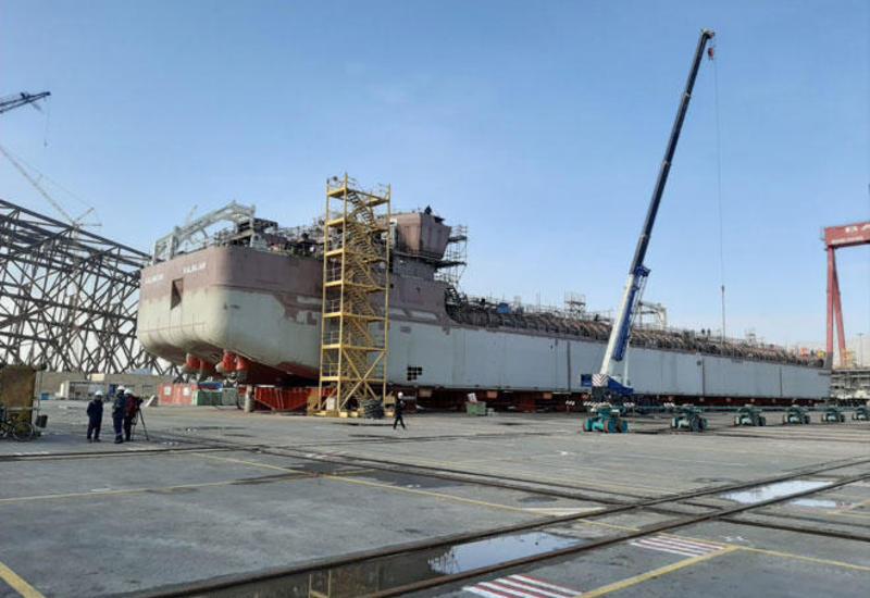 В Азербайджане спустят на воду новый танкер