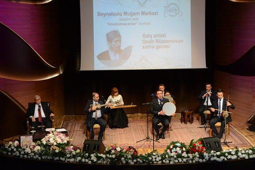 Центр мугама провел мероприятие замечательного проекта «Unudulmayanlar»