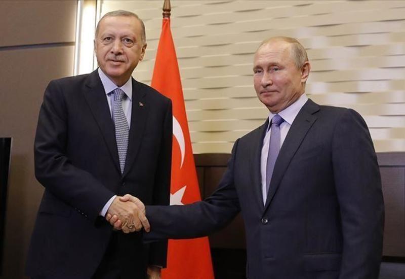 Эрдоган и Путин обсудили по телефону ситуацию в Сирии и Ливии
