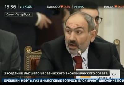 Горе-модератор Пашинян - курьез в Петербурге - ВИДЕО