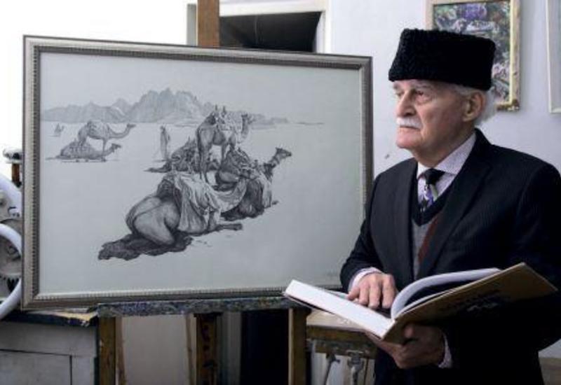 Скончался мэтр графики,  народный художник Азербайджана Джамиль Муфидзаде