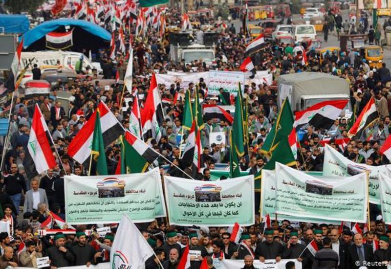 В Ираке продолжаются массовые протесты