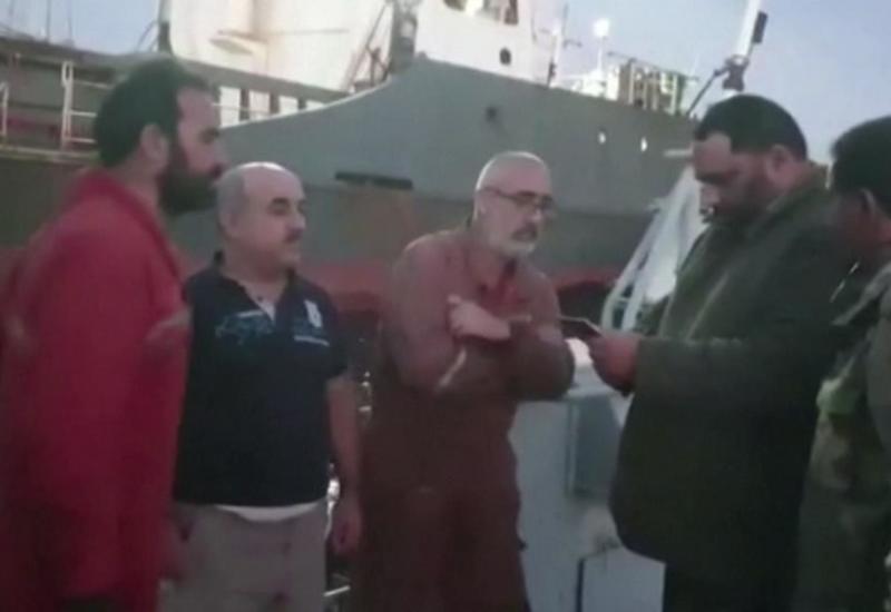 Солдаты ливийской армии задержали гражданское судно с турецким экипажем