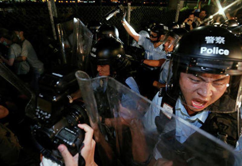 В Гонконге пресекли беспорядки на митинге в поддержку мусульман в Синьцзяне