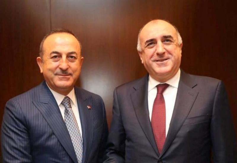 Эльмар Мамедъяров и Мевлют Чавушоглу встретились в Тбилиси