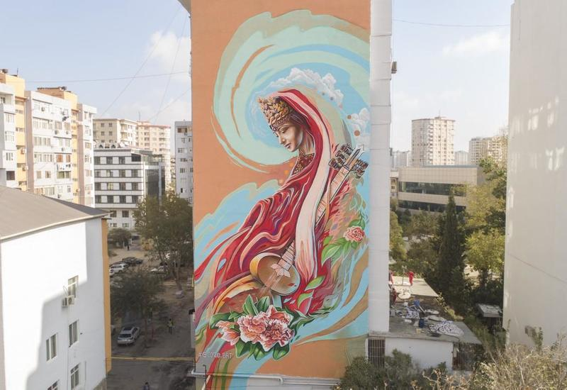 Один из лучших художников Европы, украсивший дома в Баку: Буду скучать по азербайджанскому добродушию и гостеприимству