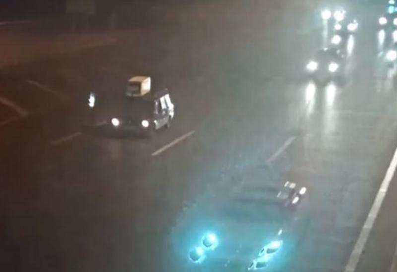 ВАЗ спровоцировал аварию в Баку