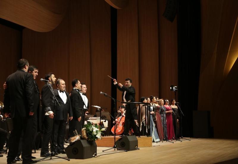 В Баку прошло торжественное закрытие первого Республиканского фестиваля вокалистов