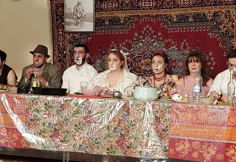 Азербайджанский театр ADO выступил с гастролями в Гяндже