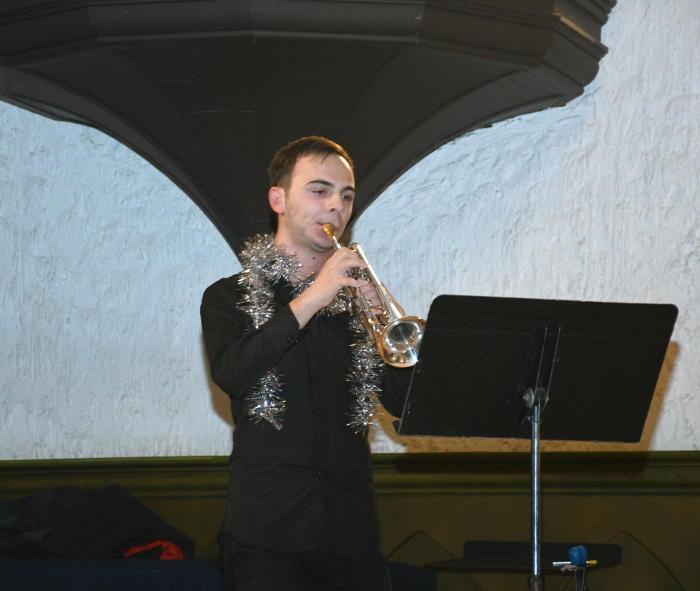 Новогодний концерт проекта Филармонии «Gənclərə dəstək»