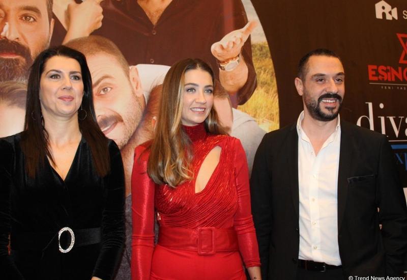 Известные турецкие актеры приехали в Баку