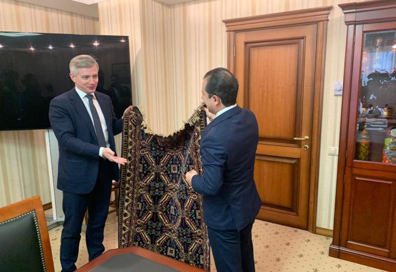 Новый мост сотрудничества между культурными организациями Баку и Москвы