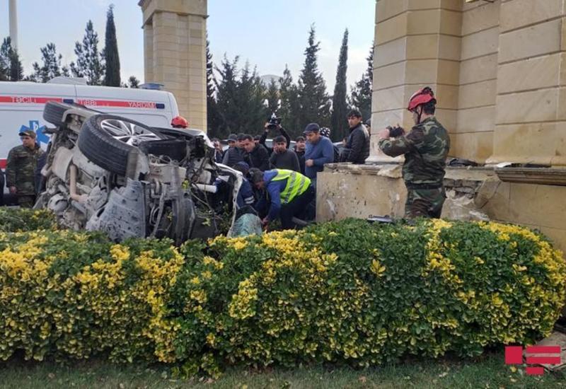 Жуткое ДТП в Ширване, есть погибшие