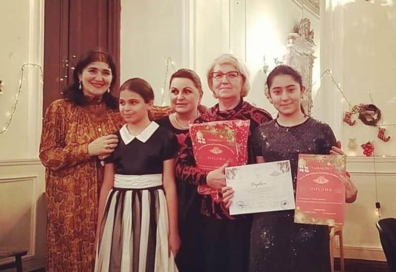 "Участники проекта Филармонии ""Gənclərə dəstək"" выступили с концертом в Тбилиси"