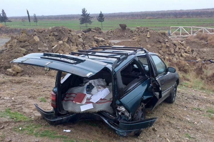 Тяжелое ДТП в Гаджигабуле, есть погибший