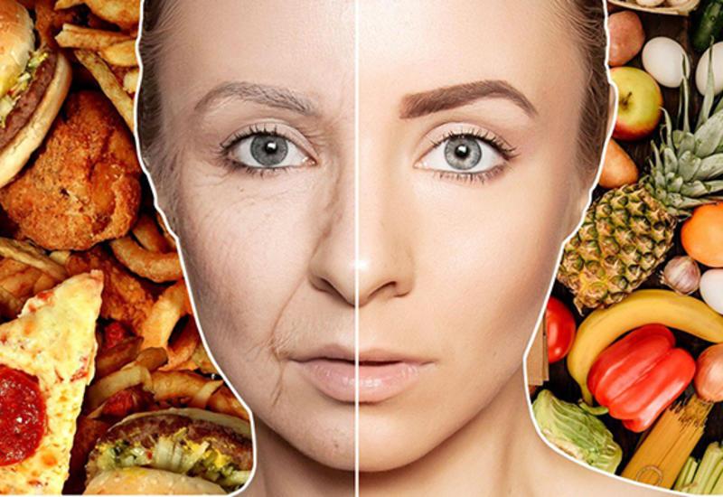 Какие продукты провоцируют старение