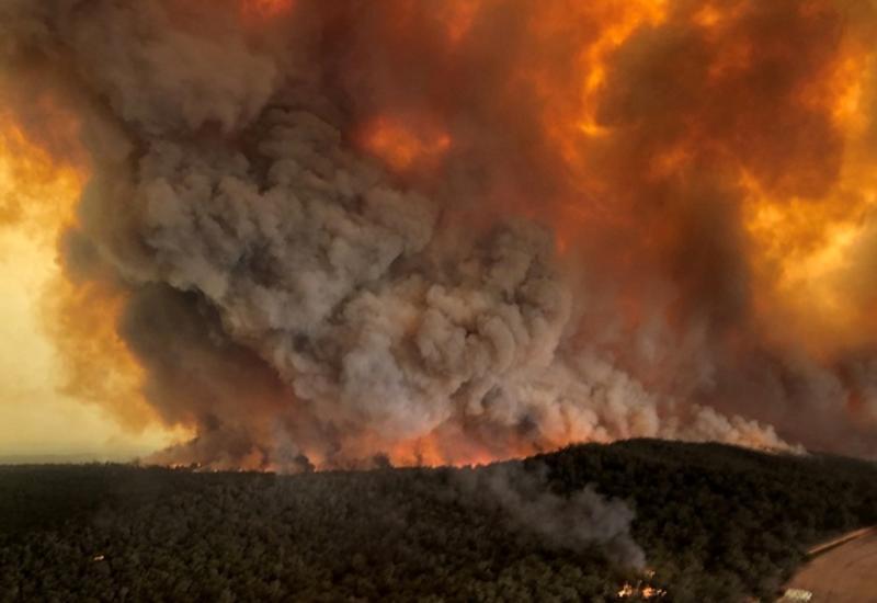 Визуализация данных NASA показала, как горит Австралия