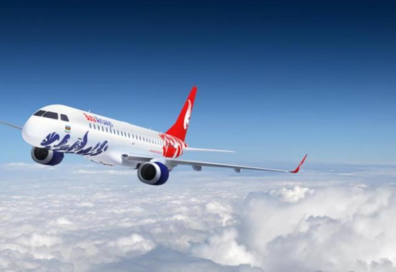 Самолет Buta Airways вернулся в аэропорт Баку