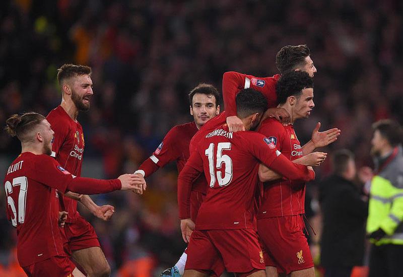«Ливерпуль» выбил «Эвертон» из Кубка Англии
