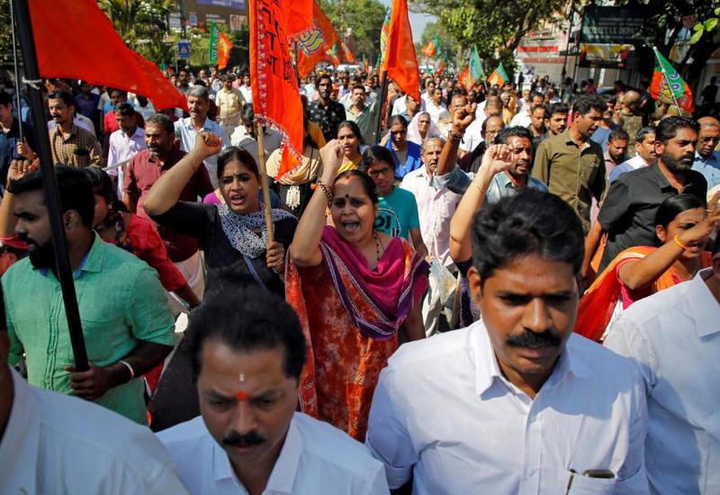 В Индии вновь начались студенческие протесты