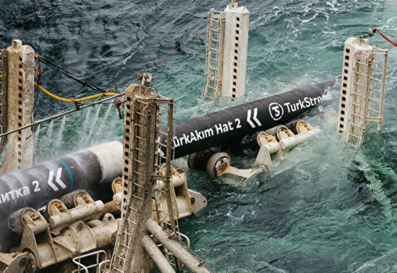 """Турция будет получать 15,7 млрд кубометров газа благодаря """"Турецкому потоку"""""""