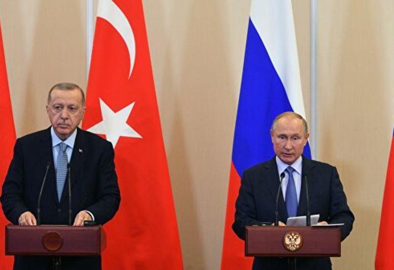 Путин и Эрдоган призвали к мирному решению проблем в Персидcком заливе