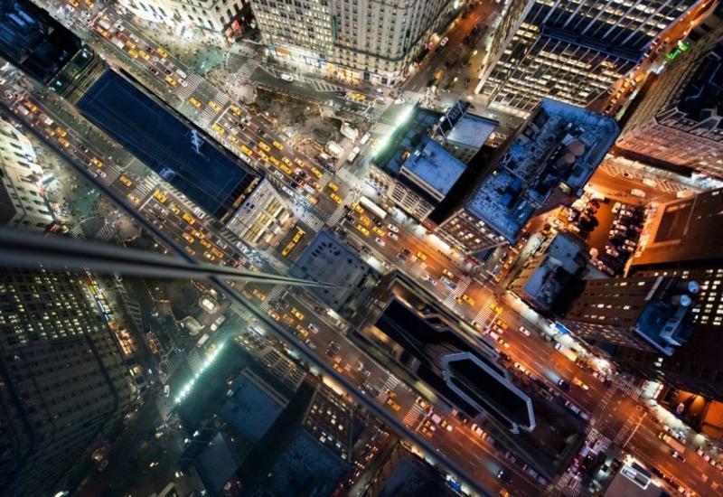 Головокружительный Нью-Йорк с высоты небоскребов