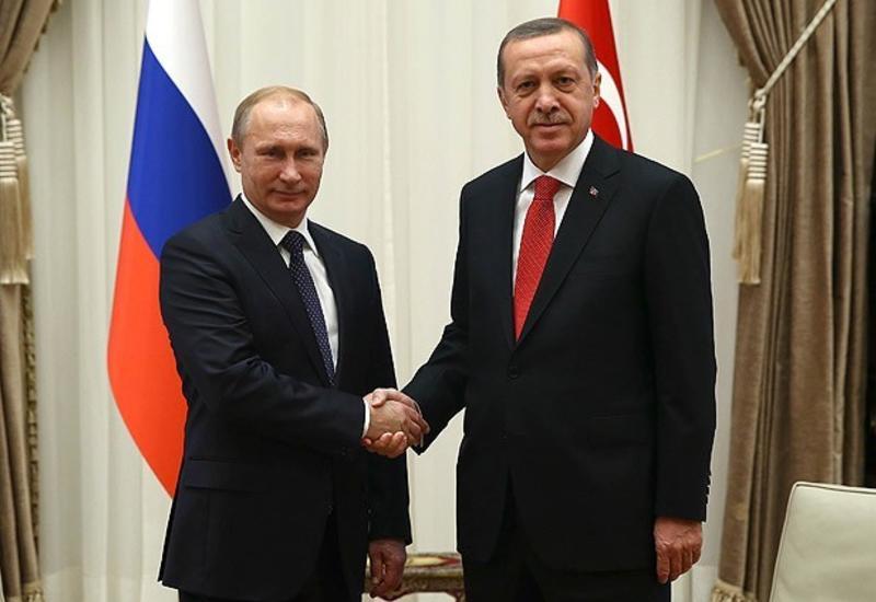 Путин и Эрдоган проводят переговоры в Стамбуле