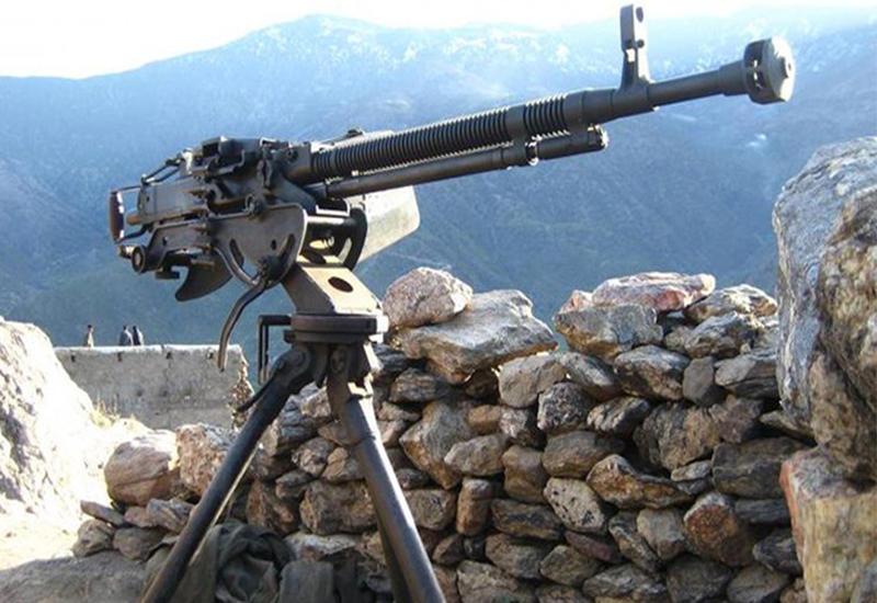 Армянский солдат застрелился из пулемета