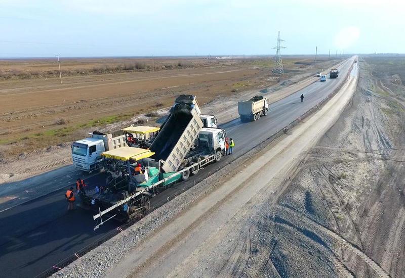 Началась реконструкция еще одной автомобильной дороги в Азербайджане