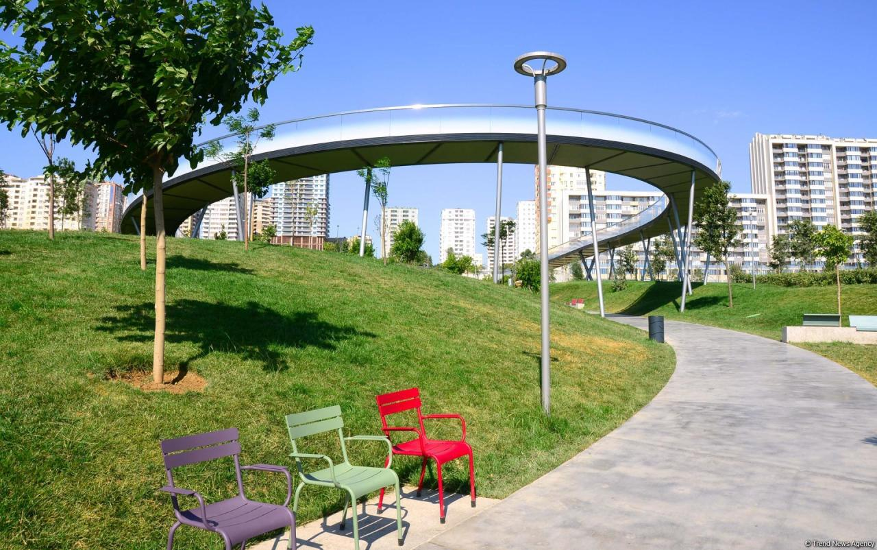 6 самых посещаемых парков Баку