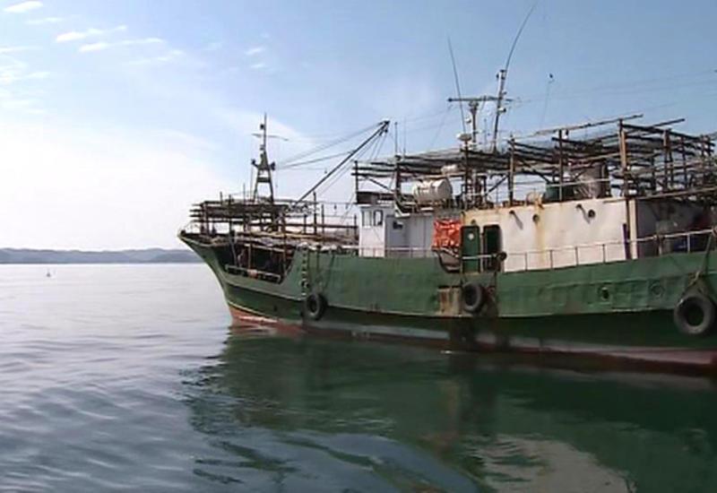 Российский танкер  столкнулся с турецкой лодкой