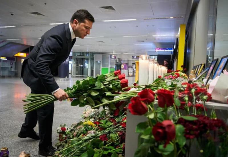 Зеленский надеется на расследование катастрофы в Иране без задержек