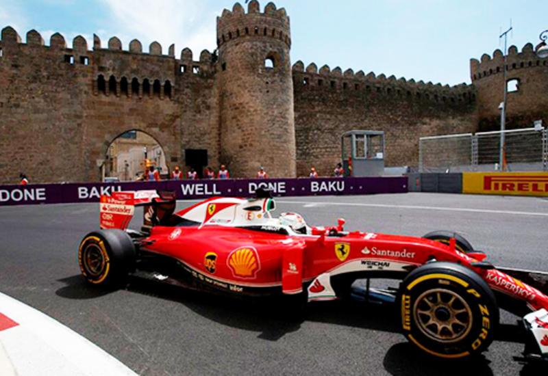 На улицах Баку начинается подготовка к «Формуле-1»