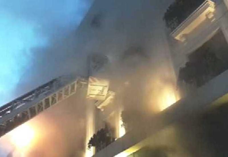 В Стамбуле горит текстильная фабрика