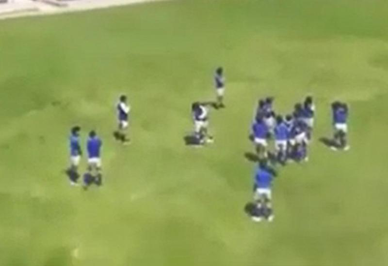 Эквадорские школьники не сумели закончить футбольный матч из-за торнадо