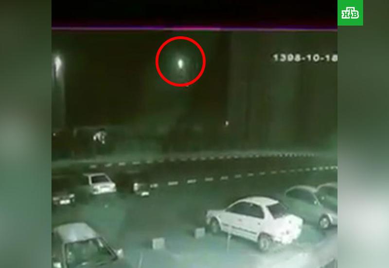 Опубликовано видео запуска ракеты по украинскому Boeing