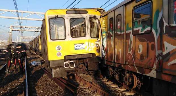 В Неаполе столкнулись поезда метро