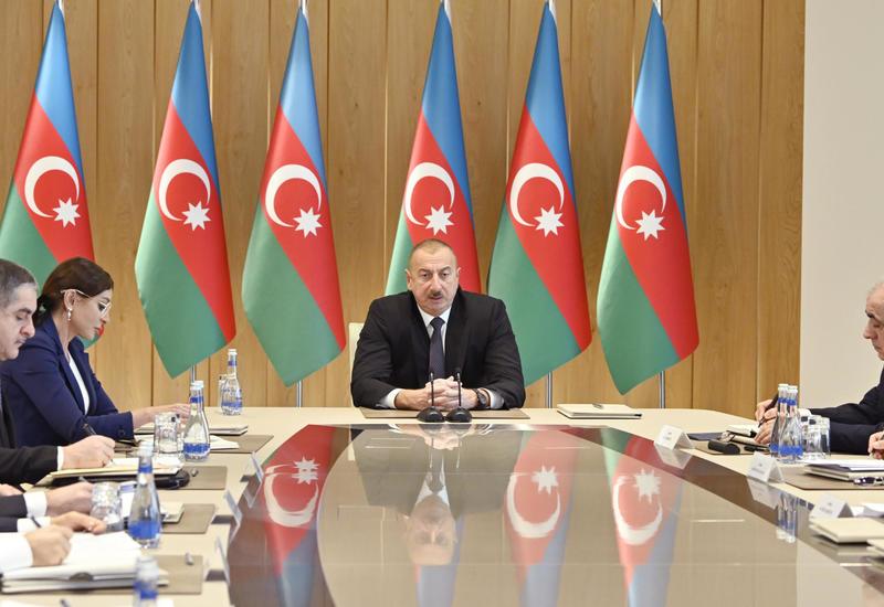 Президент Ильхам Алиев: В этом году также будут приняты дополнительные меры для сохранения стабильной макроэкономической ситуации
