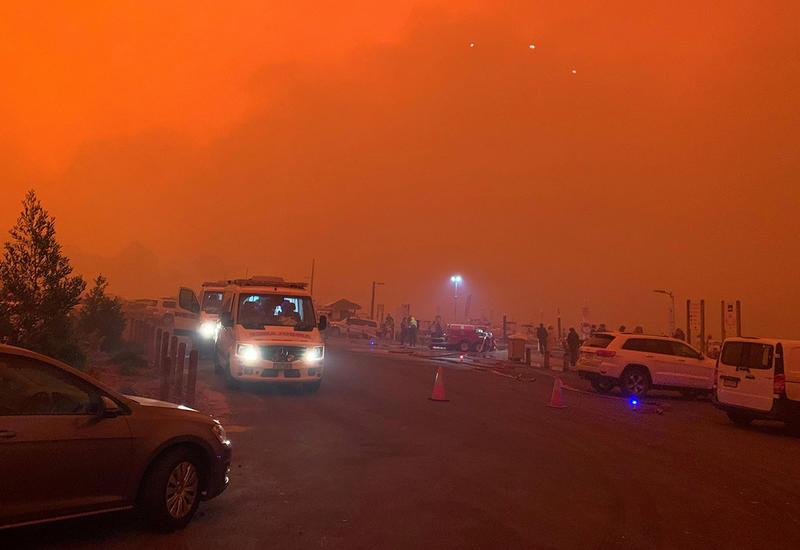 В Мельбурне загрязнение воздуха достигло опасного уровня
