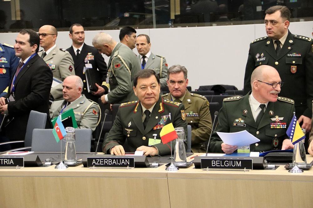 Азербайджан принял участие в заседании в штаб-квартире НАТО