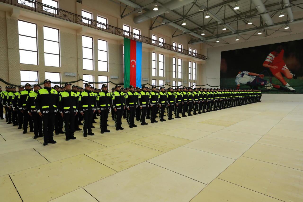 Все сотрудники полиции Азербайджана скоро получат новую форму